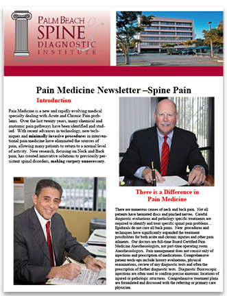 Back Pain Newsletter